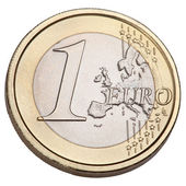 One Euro coin — Stock Photo