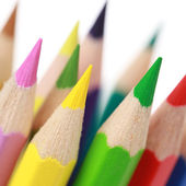 Group of colorful pencils — Stock Photo