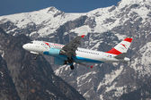 Austrian Airlines Airbus A319 — Stock Photo