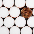 Royalty-Free Stock Photo: Filter cigarettes background