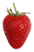 Strawberry isolated on a white background — Stock Photo