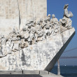 Memorial for the conquerers in Lisbon Portugal — Stock Photo