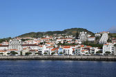 Panorama de horta en portugal azores faial — Foto de Stock