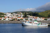 Port of Horta on Faial Azores Portugal — Stock Photo
