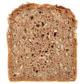 Slice of a whole wheat bread — Stock Photo