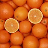 Oranges background — Stock fotografie