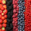 Fresh berry fruits background — Stock Photo #34729283