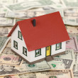 Financing a real estate (Dollars) — Stock Photo