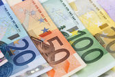 Euro notes — Stock Photo