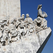 Memorial for the discoverers in Lisbon Portugal — Stock Photo