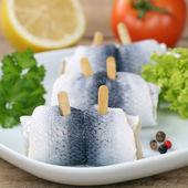 Fresh herring fish — Стоковое фото