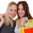 Friends having fun while shopping — Stock Photo #43069457
