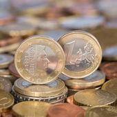 One Euro coin Luxemburg — Stock Photo