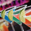 Cocktails in Martini glasses in a bar — Stock Photo #43885917