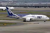 ANA All Nippon Airways Boeing 787 Dreamliner Tokyo Haneda Airpor — Stock Photo