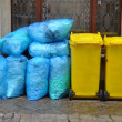 Garbage cans - Foto Stock