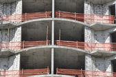 Skyscraper under construction — Stok fotoğraf