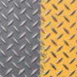 Stock Photo: Colored diamond plate