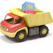 Toy truck and cubes — Stock Photo #11443026