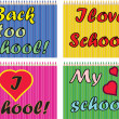 Stock Photo: School backgrounds