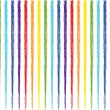 Stock Vector: Rainbow stripes