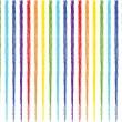 Rainbow stripes — Stock Vector