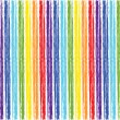 Rainbow stripes — Stock Vector