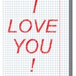 Valentine card. — Stockvector  #27466287