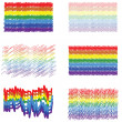Rainbow banners. — Stock Vector
