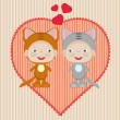 Find Similar Images Valentine card.  — Image vectorielle