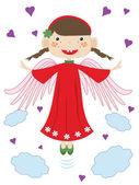 Angel. — Stock Vector