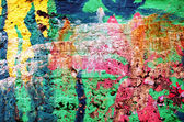 Background of rough surface wall various colors — Stock Photo
