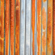 Royalty-Free Stock Photo: Background of rusty retro wall metal fence wall