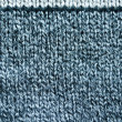 Knit wool texture background of grey black color — Stock Photo