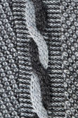 Knit wool background old handmade sweater pattern — Stock Photo