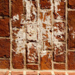 Royalty-Free Stock Photo: Vintage dirty red brick wall background closeup
