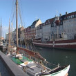 图库视频影像: Pier with lot of boats in denmark.