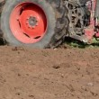 Tractor plough soil — Stock Video #18026257