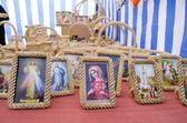 Religion maria jesus picture icon frame market — Foto Stock