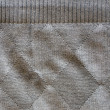 Stock Photo: Worn old knitted woollen rhomb line background