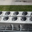 Ventilator fan biogas — Stock Video