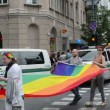 Baltic city parade gay — Stock Video #37684023