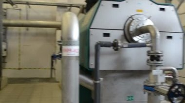 Biogas generator sludge — Vídeo Stock