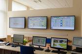 Factory control room  — Stock Photo