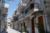 Landmark greek village of pyre on chios island — Стоковое фото