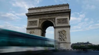 Arc de triomphe — Stock Video