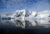 Clear antarctic weather — Stock Photo