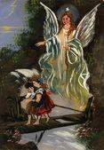 Aniół stróż — Zdjęcie stockowe