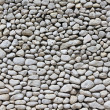 Photo: White pebble wall