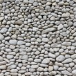 图库照片: White pebble wall